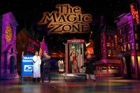 Lance Burton Master Magician plays doctor on stage in Las Vegas